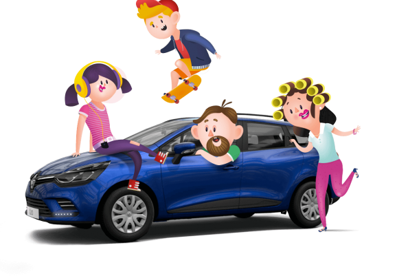Soutěž o 10 osobních vozů Renault CLIO Grandtour