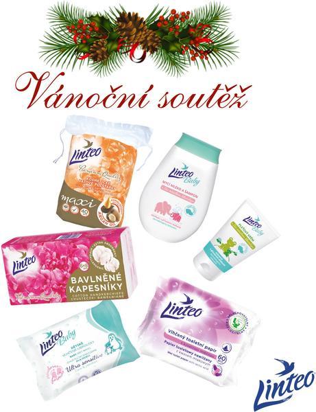 Vánoční soutěž o kosmetické výrobky Linteo