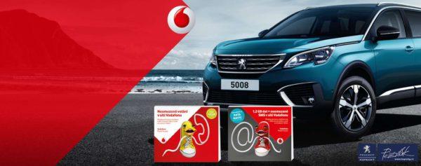 Velká soutěž s Vodafone o auto na celý měsíc!