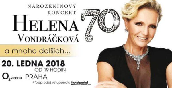 Helena Vondráčková pořádá mega oslavu narozenin v O2 aréně