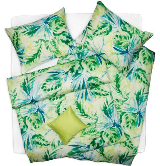 Vyhrajte 2x povlečení SATÉN PLUS s motivy palmového listu od značky SCANquilt