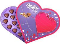 Soutěž o speciální valentýnskou edici srdíčkových pralinek Milka