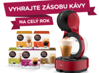 Vyhrajte zásoby lahodné kávy NESCAFÉ Dolce Gusto na celý rok