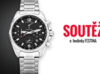 Soutěž o pánské hodinky Festina Chronograph