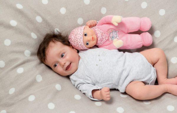 Vyhrajte Baby Annabell® Newborn s tlukotem srdce